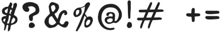 Ana's Jumpy Typewriter otf (400) Font OTHER CHARS