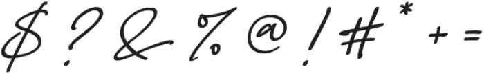 Anastacia Two otf (400) Font OTHER CHARS