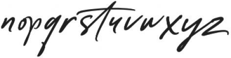 Anastacia Two otf (400) Font LOWERCASE