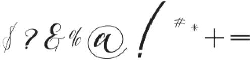 Anatasha otf (400) Font OTHER CHARS