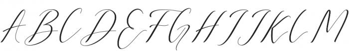 Anatasha otf (400) Font UPPERCASE