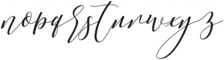 Anatasha otf (400) Font LOWERCASE