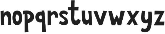 Anatawa otf (400) Font LOWERCASE