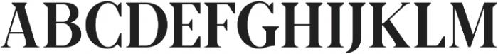 Anathesia serif otf (400) Font UPPERCASE