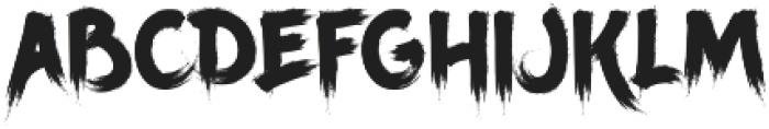 Ancherr otf (400) Font UPPERCASE