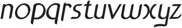 Anchor Italic bold otf (700) Font LOWERCASE