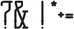Anchor Slab otf (600) Font OTHER CHARS