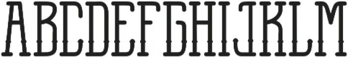 Anchor Slab otf (600) Font UPPERCASE