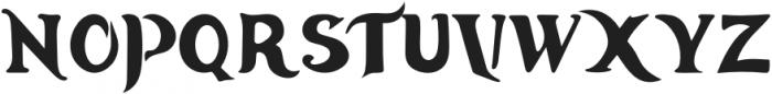 Ancient-Tulip Regular otf (400) Font UPPERCASE