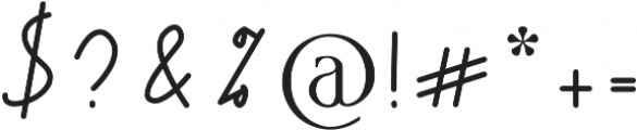Andalusia otf (400) Font OTHER CHARS