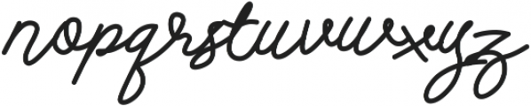 Andalusia otf (400) Font LOWERCASE