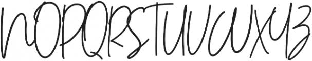 Andalusya otf (400) Font UPPERCASE