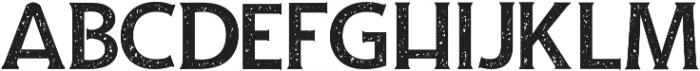 Andamar rough serif ttf (400) Font UPPERCASE