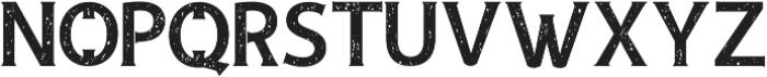Andamar rough serif ttf (400) Font LOWERCASE