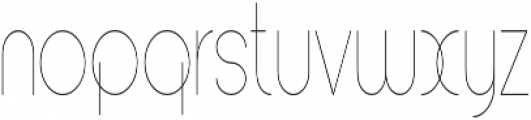 Andarian Condensed Regular otf (400) Font LOWERCASE