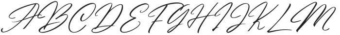 Andasia otf (400) Font UPPERCASE