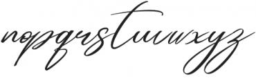 Andasia otf (400) Font LOWERCASE