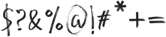 Andecha otf (400) Font OTHER CHARS