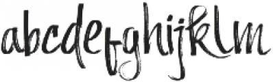 Andecha otf (400) Font LOWERCASE
