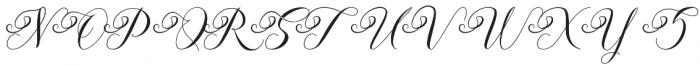 Andeglei otf (400) Font UPPERCASE