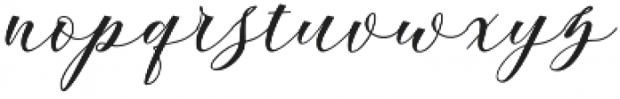 Andeglei otf (400) Font LOWERCASE
