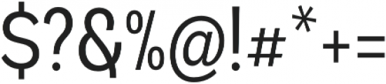Andes Condensed Book otf (400) Font OTHER CHARS