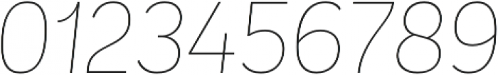 Andes UltraLight Italic otf (300) Font OTHER CHARS
