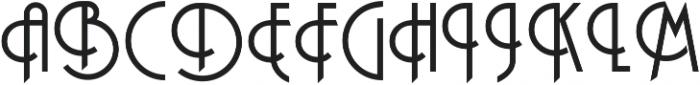 Andesite otf (400) Font UPPERCASE