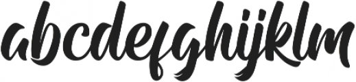 Andhibath otf (400) Font LOWERCASE
