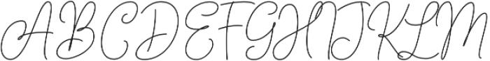 Andien Nidya Script Script otf (400) Font UPPERCASE
