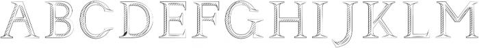 Andimia Steel ttf (400) Font UPPERCASE