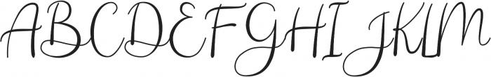 Andina ttf (400) Font UPPERCASE