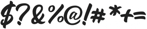 Andora otf (400) Font OTHER CHARS