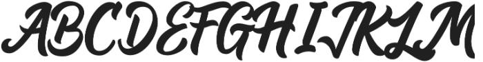 Andora otf (400) Font UPPERCASE