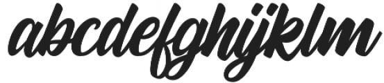 Andora otf (400) Font LOWERCASE