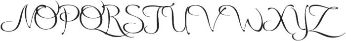 Andovai otf (400) Font UPPERCASE
