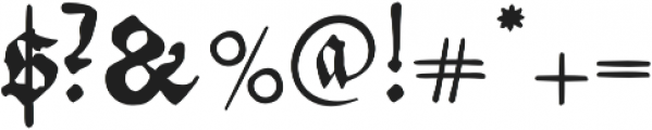 Andreae otf (400) Font OTHER CHARS