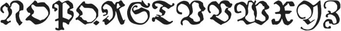 Andreae otf (400) Font UPPERCASE