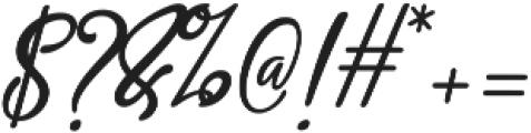 Aneisha script Regular ttf (400) Font OTHER CHARS
