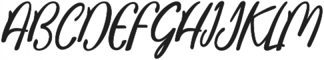 Aneisha script Regular ttf (400) Font UPPERCASE
