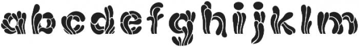 Anemonas Typeface Regular otf (400) Font LOWERCASE