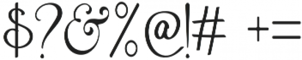 Anetha Faith Serif otf (400) Font OTHER CHARS