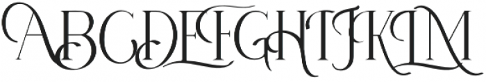 Anetha Faith Serif otf (400) Font UPPERCASE