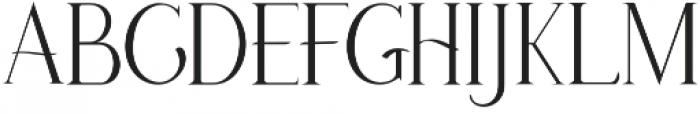 Anetha Faith Serif otf (400) Font LOWERCASE