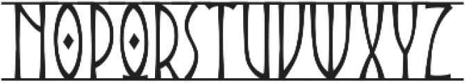 Angars Runes otf (400) Font UPPERCASE
