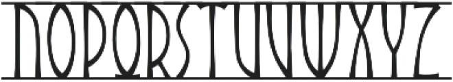 Angars Runes otf (400) Font LOWERCASE