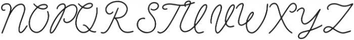 Angel Dreams Regular otf (400) Font UPPERCASE