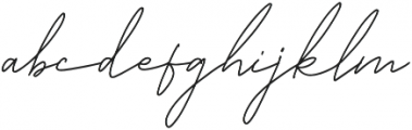 Angelic Bonques Script otf (400) Font LOWERCASE
