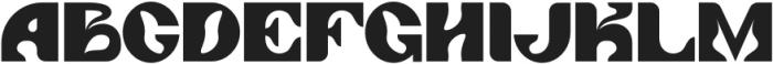 Angelica Regular otf (400) Font UPPERCASE