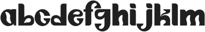Angelica Regular otf (400) Font LOWERCASE